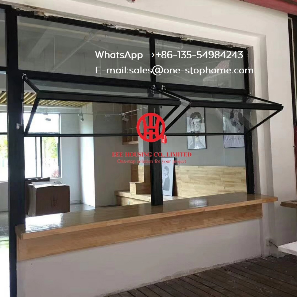 Aluminum Bi Fold Window,restaurant/ Dining-hall Window,aluminum Folding Window,tempered Glass Aluminum Alloy Sheet