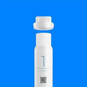Image 2 - Xiaomi elemento del Filtro di depuratore di acqua PP cotone pre carbone attivo RO osmosi inversa post filtro a carbone attivo elemento