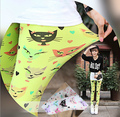 Новое Поступление Печатных Кошка рисунок леггинсы для женщин мода Микрофибры тонкие брюки Конфеты цвета перевозка груза падения