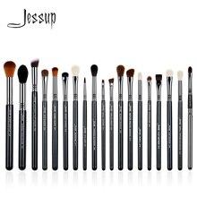 Джессап кисти 19 шт. Высокое качество Pro набор кистей для макияжа Make Up Brush подводка для глаз корректор Карандаш для губ T131