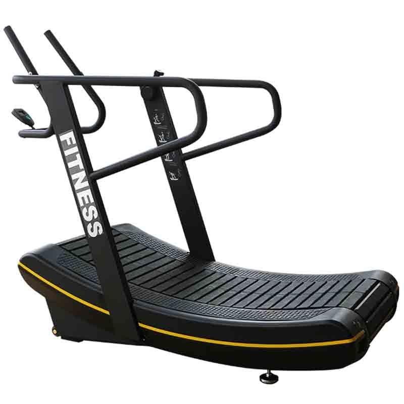 Tapis roulant mécanique d'exercice aérobique réglable de résistance d'équipement de forme physique de sport à la maison