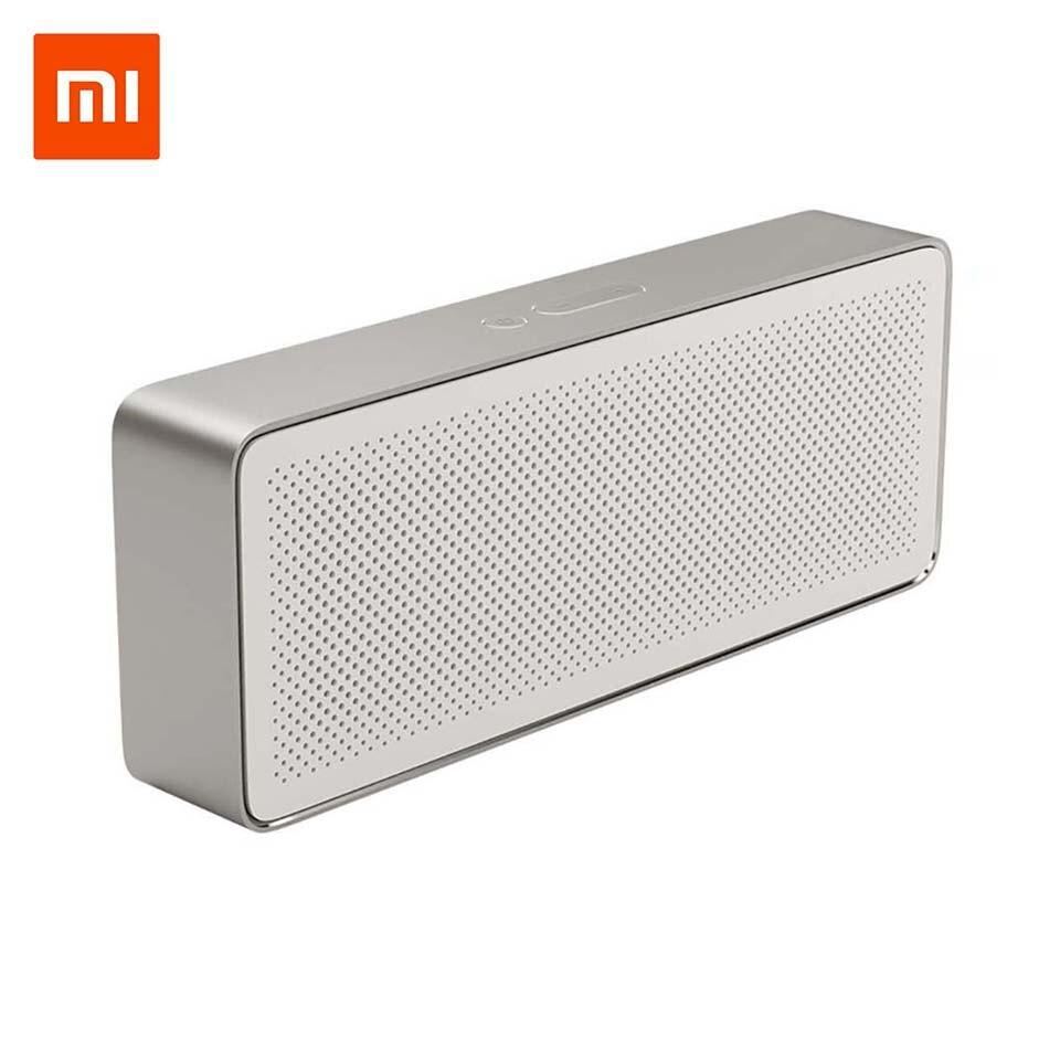 Original Xiaomi Bluetooth lautsprecher bluetooth spalte Platz Box 2 Grundlegende 2 Drahtlose Tragbare Lautsprecher Stereo II 4,2 Hände-freies AUX
