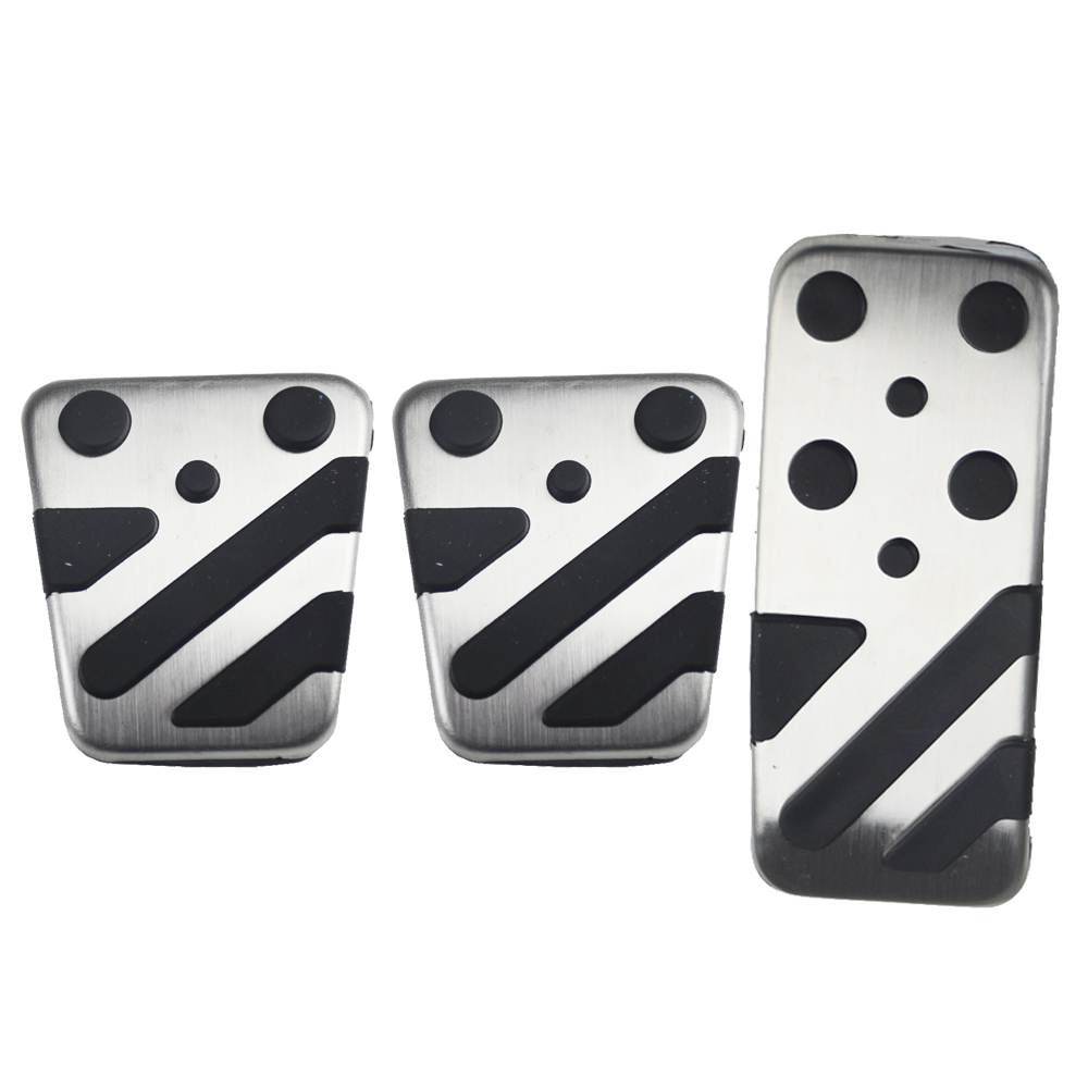 Image 2 - Car Clutch Brake Accelerator Pedal Foot Rest Pedals Covers For Mitsubishi ASX LANCER EX Outlander Car Styling Sticker Cover-in Pedals from Automobiles & Motorcycles