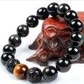 Фэн-шуй браслет ювелирные изделия удачи браслет Obsidain Pixiu браслет ювелирные изделия богатство Piyao браслет