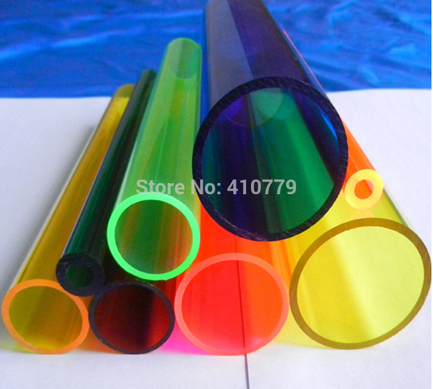 THZ acrylic plexiglass transparent tube plastic perspex pipe (6)