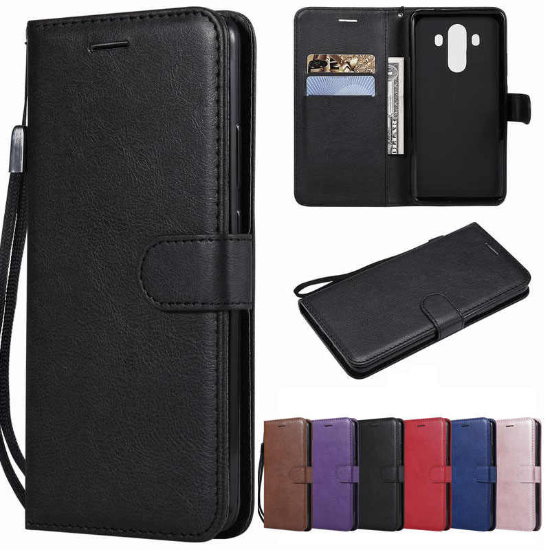 For Huawei Mate 10 Lite Case On Huawei Mate 10 Pro Cover Leather Wallet Phone Case For Huawe Mate 10 Flip Book Cover Fundas