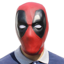 Deadpool Mask Cosplay Movie Masque Halloween Full Head Face Latex Costume Props Party Masks Adult