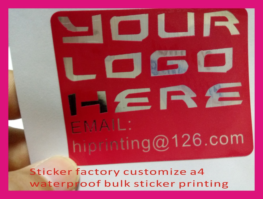 Sticker factory customize a4 waterproof bulk sticker printing in stationery sticker from office school supplies on aliexpress com alibaba group