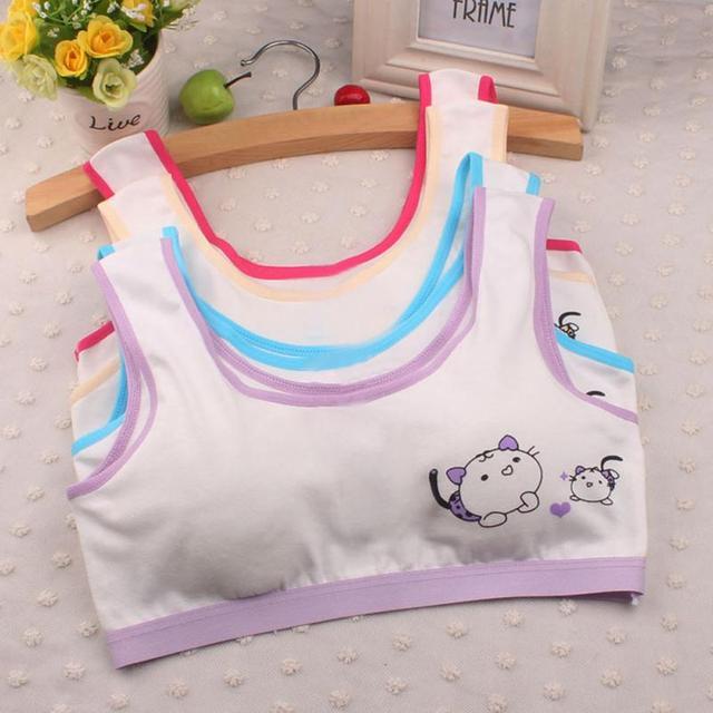 10-14 Ans Vente Chaude Enfants Sous-Vêtements Modèle Nouvelle Belle Filles  Impression Sous e56bc2c307b
