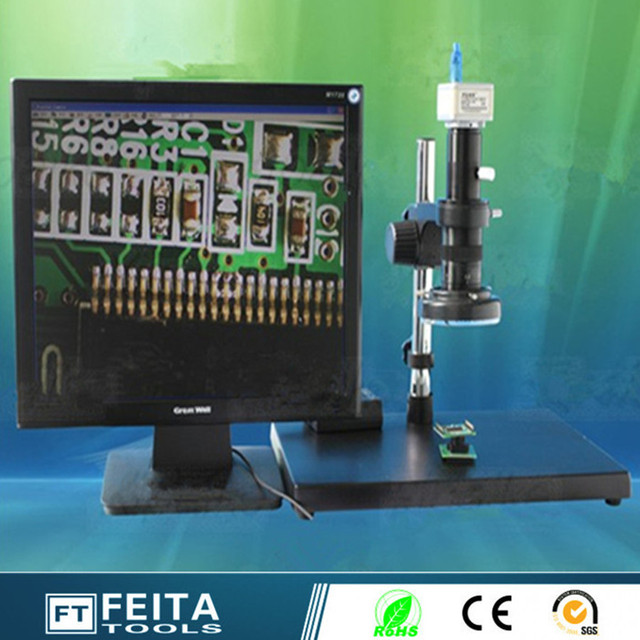 Alexpress wholesale High speed 200W Electronic Microscope USB digital microscopes USB Video Digital microscopes