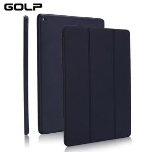 Image 1 - Dünne Intelligente Fall Abdeckung für iPad Pro 12,9 2015 2016, PU Leder Folding Folio Fällen für iPad Pro 12,9 2017 pro 11 12,9 2018 2020