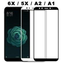 Защитное стекло для Xiaomi mi 6X A2 Xio mi A1 на Ksio mi закаленное 5X A1 mi a1 mi a2 6 X защитная пленка для экрана Xao mi