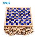Детские игрушки деревянный блок подсчет 1-100 монтессори-образование для детей обучающие игрушки ребенок подарок