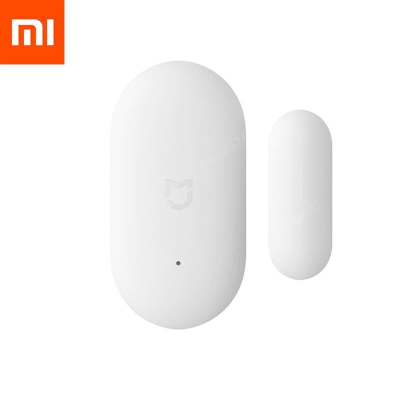 Xiaomi Mijia Porta Janela Do Sensor De Zigbee Conexão Inteligente Mini Trabalho sensor de porta Sem Fio Com Android & IOS App controle