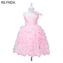 Girl Dress Princess Christmas Lace Kids Christening Events Party Wear Dresses For Girls Children Baby Red Clothes