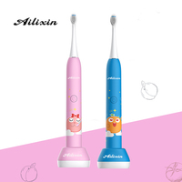 Hot selling Children's Electric Toothbrush USB Electric Toothbrush Waterproof and Whitening Gingival Protection for Children