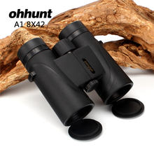 Big discount Hunting ohhunt A1 8X42 Binoculars Waterproof Fogproof Telescope Wide-angle Powerful Bright Optics Camping Hiking Binocular