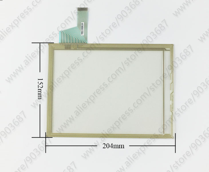 Touch Screen Panel Glass Digitizer for Hakko V808iSD V808CD V808iCD with Overlay