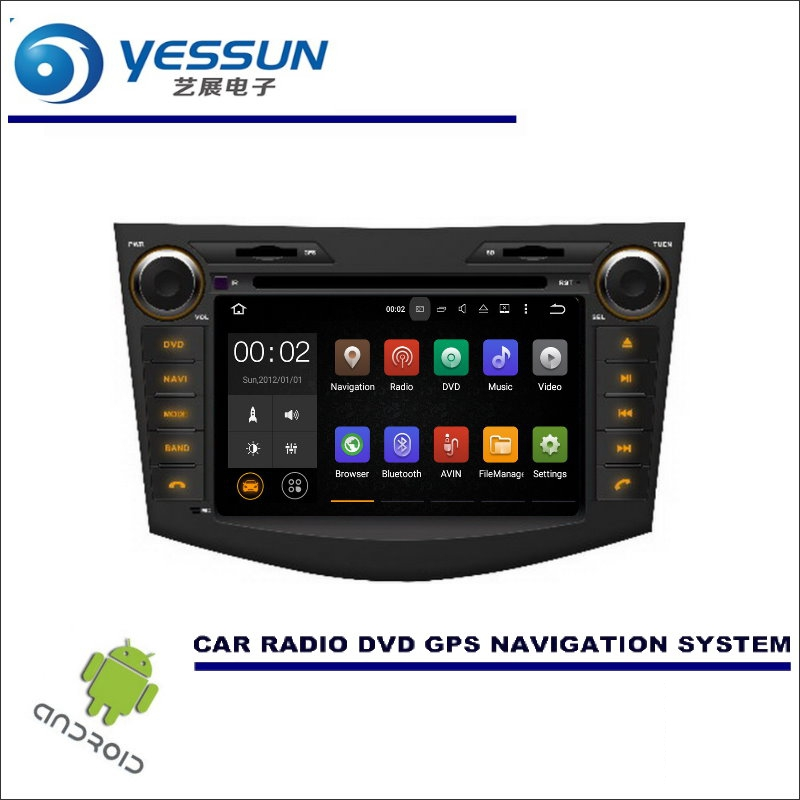 YESSUN For <font><b>Toyota</b></font> <font><b>Rav4</b></font> 2005~2012 CD DVD GPS Player Navi Radio Stereo HD Screen <font><b>Car</b></font> <font><b>Multimedia</b></font> Navigation Wince / Android System image