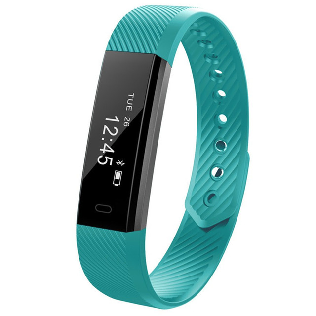 5 Colors  Smart band Bracelet Heart Rate Monitor Pedometer Fitness tracker KIDS Smart Wristband for huawei band 4smartwatch
