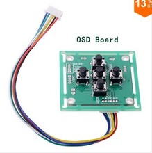 2016 Micro Sony Ccd 700tvl Fpv Osd Board For Mini Security Cctv Fpv Camera Board And Fixed Wing/Shaft/FPV 250 Aerial Vehicles