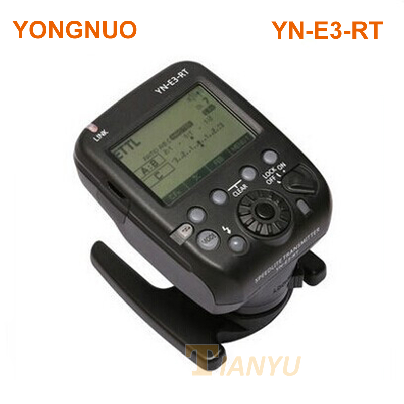 YONGNUO YN-E3-RT TTL Radio Trigger Speedlite Transmitter as ST-E3-RT for Canon 600EX-RT,YONGNUO YN600EX-RT yongnuo 3x yn 600ex rt ii 2 4g wireless hss 1 8000s master flash speedlite yn e3 rt flash trigger for canon eos camera 5d 6d