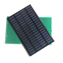 BUHESHUI 18V 2.5W Polycrystalline Energy Power Solar Panel Module System Solar Cell Charger 194x120MM Epoxy 20pcs Free Shipping