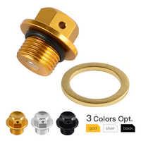 M14 * 1,25 Magnetische Öl Ablauf Stecker Für Suzuki GSXS GSXR 600 750 1000 V Strom 250 Bandit 1200 1250 S GSR GSX GSF 400 1100S 1400 SV