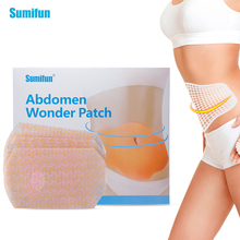 Sumifun Hot Sell 5 Pieces/ Box Slimming Patch 100 Natural Ingredients New Belly Abdomen Weight Loss Fat Burning slim patchK02701