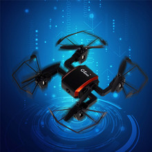 Hot GTeng T901F Mini Quadcopter 5.8G FPV Drone with Camera 2.0MP 6-Axis Gyro Headless Mode FPV Monitor VS H8MINI