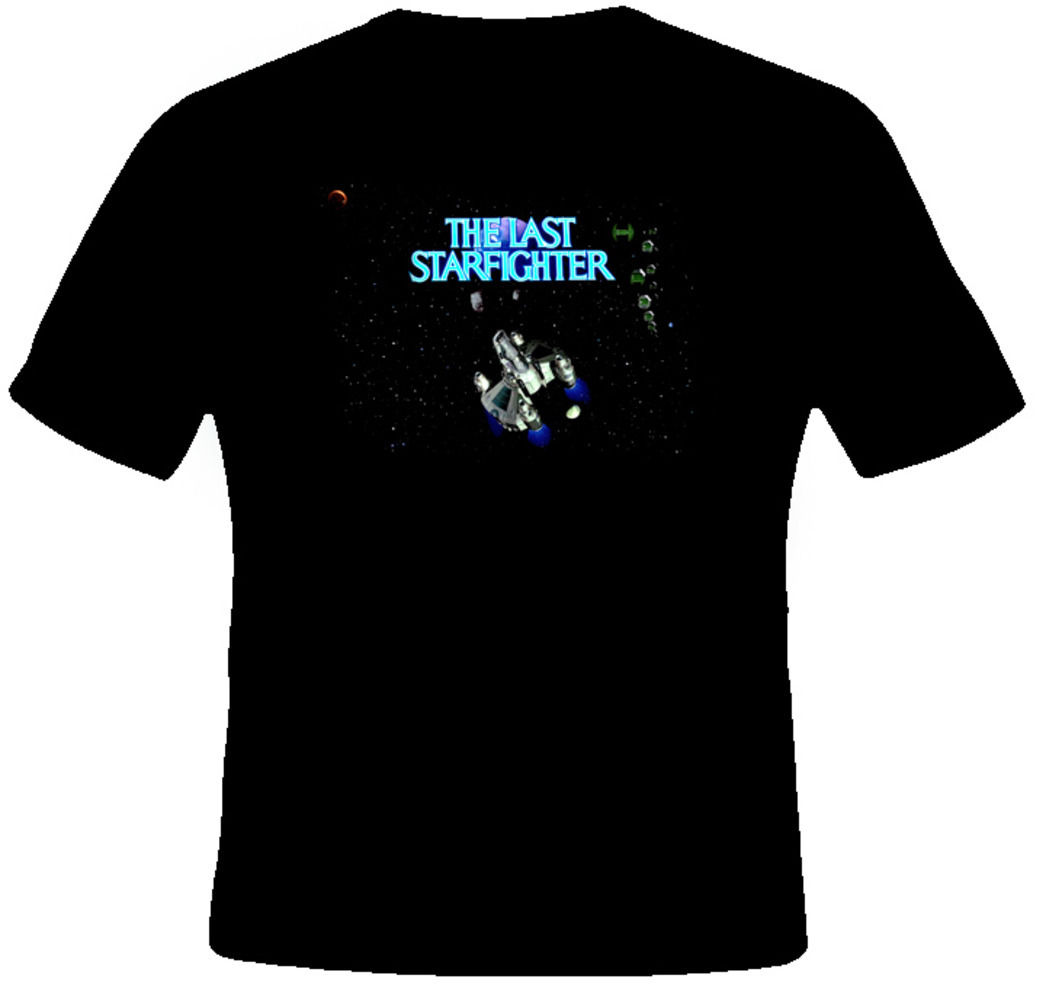 OKOUFEN The Last Starfighter Retro Action Cult Movie T Shirt