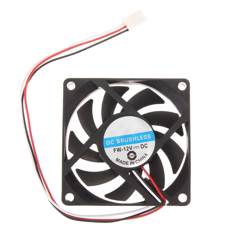 3pin 12v DC Brushless Fan for Smooth Quiet Operation Small PC CPU Cooling Fan Heat Sink 70x70x15mm High Quality Dropshipping