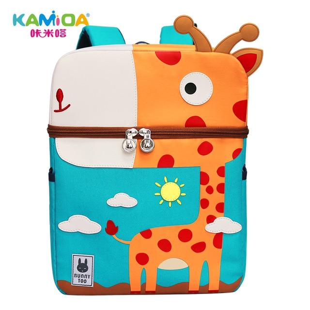 fc6971f591 Cartone animato Anime Scuola Materna Per Bambini Zaino Delle Ragazze Dei  Ragazzi Babys Unicorn Carta Giraffa Flamingo Dinosauro Elefante Balena  Carino Borse