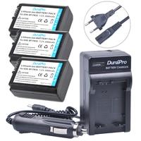 Hot 3Pcs 2000mAh NP FW50 NPFW50 NP FW50 Battery Batterie AKKU 1 Charger For Sony NEX