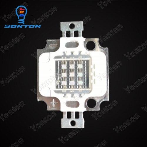 High Power 10W 365nm 380nm 385nm 395nm 405nm 420nm UV Led by Epileds 45mil chips