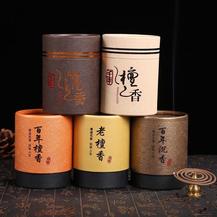 ★  Производители Цао из натурального сандалового дерева ладан 2 часа алоэ 24 диска 48 крытый ладан лада ✔
