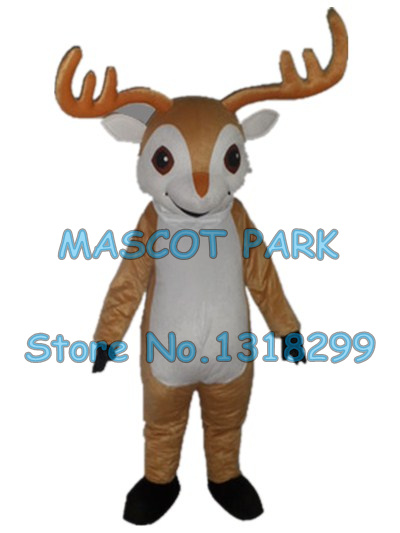 Christmas rudoph Deer mascot costume adult size cartoon xmas reindeer Elk cosply costumes carnival fancy dress 3276