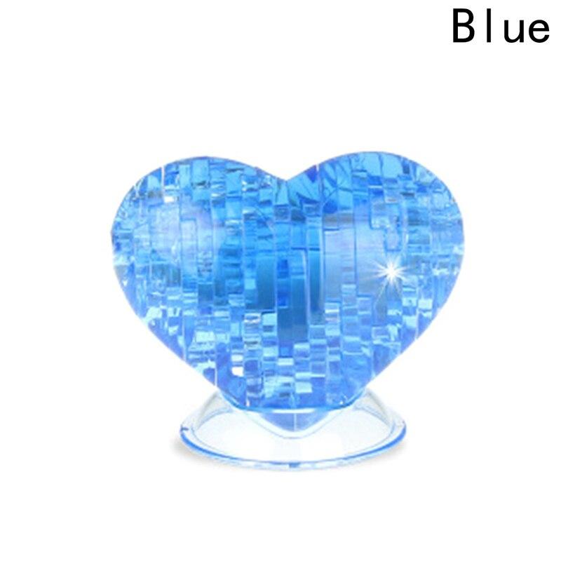 Трехмерный кристалл головоломки модель здания творческий подарок любимым