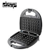 DSP 3 in 1 Wafelijzer Sandwich Machine Barbecue Machine multifunctionele Elektrische Bakpan 750 w 220- 240 v