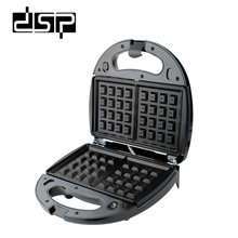 DSP 3 in 1 Waffle Maker Sandwich Machine Barbecue Machine Multi-function Electric Baking Pan 750W 220-240V цена