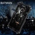 -Apenas r batman para samsung galaxy s6/s6 edge/s6 borda +/s7/note5 metal alumínio caso capa armadura à prova de choque anti-bater casos de telefone