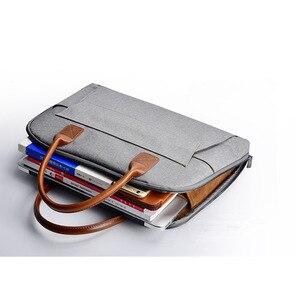 Image 1 - Bolso elegante para ordenador portátil tas de 15,6 pulgadas para mujer y hombre, funda para macbook air 13, xiaomi, lenovo y yoga