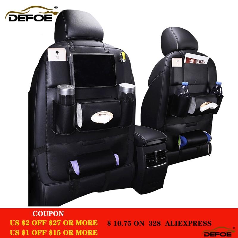 Nieuw design mode autostoel opbergtas autostoel terug tas auto styling multifunctionele zak autostoeltje auto steat terug tas