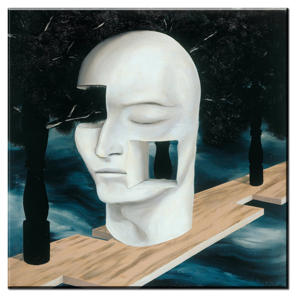 xdr544 memory 1948 by rene magritte artist morden arts print wall painting on canvas oil painting for bed room no frame
