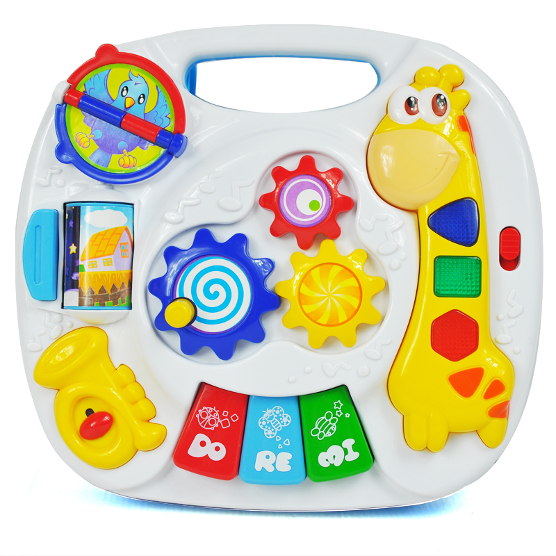 Musical Learning Toys : Kids toddler musical learning table baby educational toy