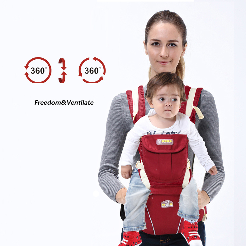 NEW Fashion Baby Backpack Sling Carrier Baby Holder,Adjustable Kids Baby Sling Carrier For 0~48 Months Kids,mochila portabebe