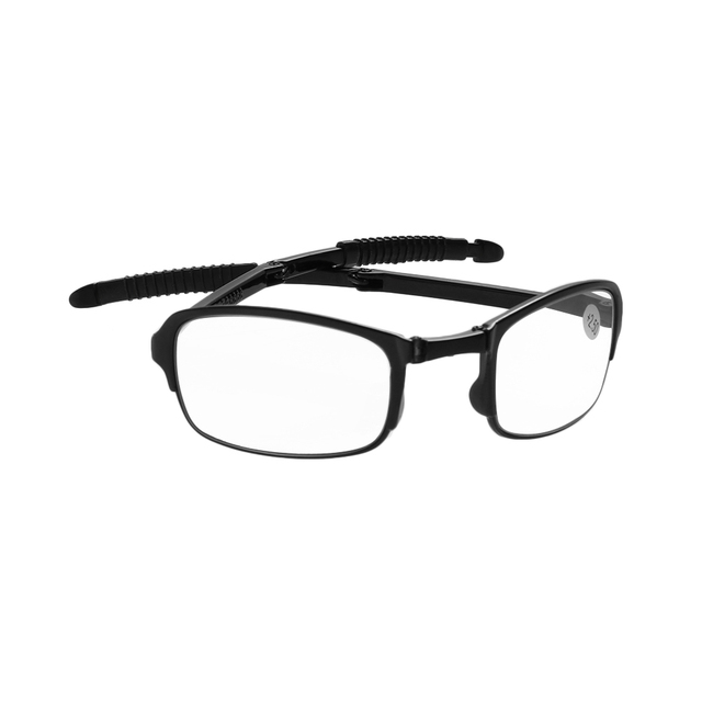 0731da10a5 1PC Unisex Foldable Ultralight Reading Glasses Metal Frame Folding  Eyeglasses Eyeglass With Case Vision Care Bifocal