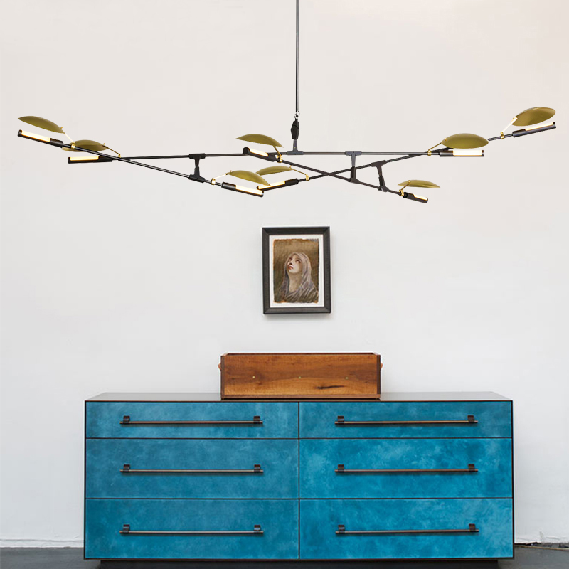 Postmodern contracted designer chandeliers Nordic creative restaurant guest bedroom dendrite droplight of lamps contemporary and contracted three small droplight nordic restaurant led creative personality art stage chandeliers office lamps
