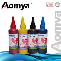 Hot Bulk Waterproof Ink!!! Aomya 4Colorsx100ml BK CY MG YL Specialized Art Paper Ink for Epson Printer Expression ME 301|waterproof ink|art paper ink|ink for epson -
