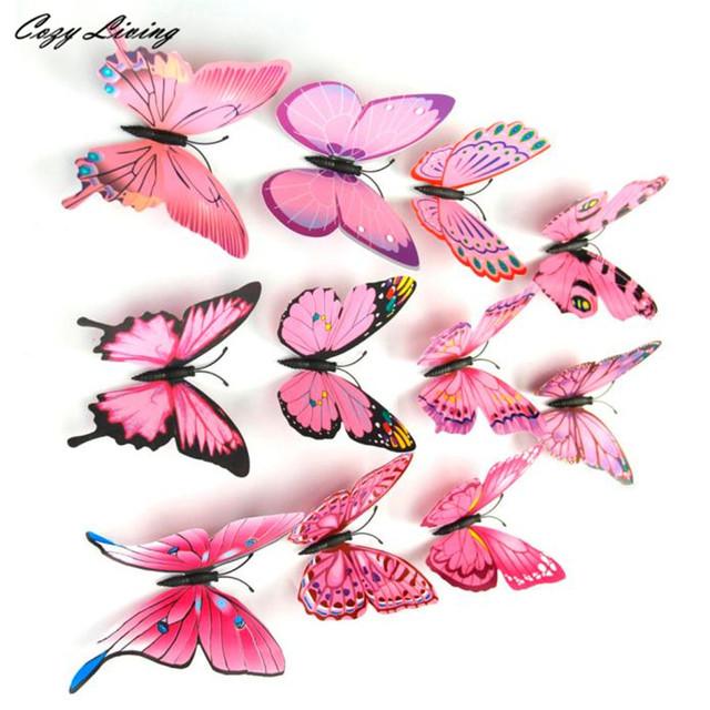Butterfly Fridge Magnet Sticker